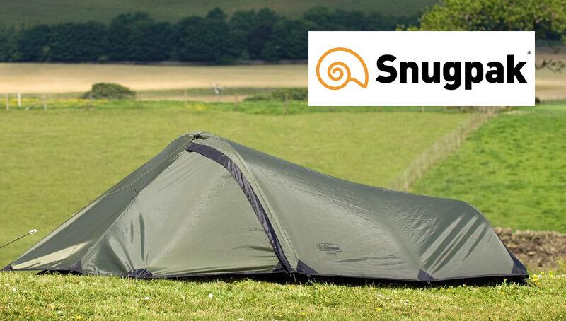 Snugpak IONOSPHERE Lightweight, One to Two uomo Bivvi  Tent with Stuff Sack