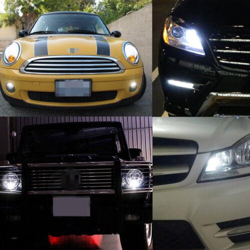 2pcs Xenon White 168 194 2825 Car Truck Parking Position Lights 19-SMD LED Bulbs