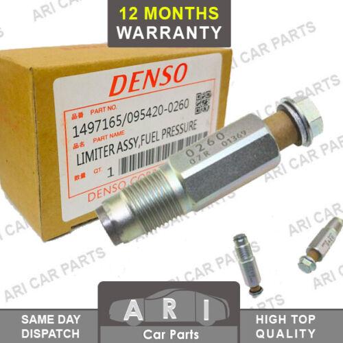 Original Denso Ford Transit MK7 VII el distribuidor de combustible Válvula de alivio de presión 2.2 2.4 TDCi