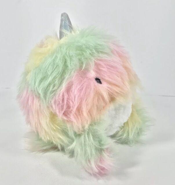 More Than Magic Multicolored Uni Whale Plush Stuffed Animal