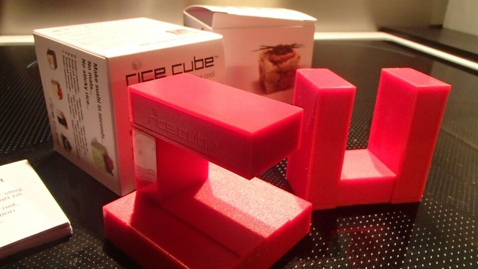 Sushi forme, 6/6 x 6/6 x 6/6 cm , Rice Cube