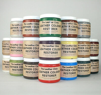 Leather Colour Dye Restorer for Faded & Worn Leather. Repair & Restoration