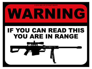 Warning-if-you-can-read-this-you-are-in-range-Bumper-Sticker