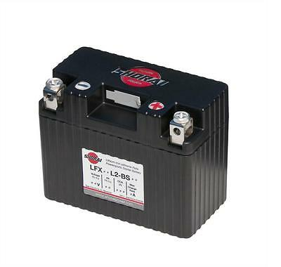 "Shorai LFX Lithium Battery 14AH, 12V, 210 CCA, ""L"" Polarity LFX14L2-BS12"
