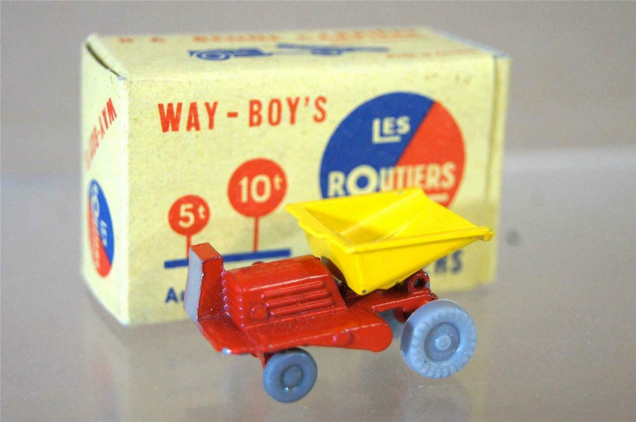 Way-boys LES routiers n. 6 Midget GIOCATTOLI CO BENNE CARRIERE blu tipo 7 MIB OZC