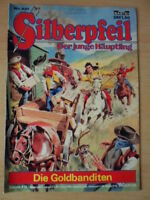 SILBERPFEIL Nr. 321 (1) Die Goldbanditen 1-2 Bastei-Verlag Orginal