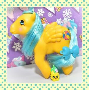 My-Little-Pony-MLP-G1-Vtg-1985-So-Soft-Bouncy-DEFLOCKED-Beach-Ball-Pegasus