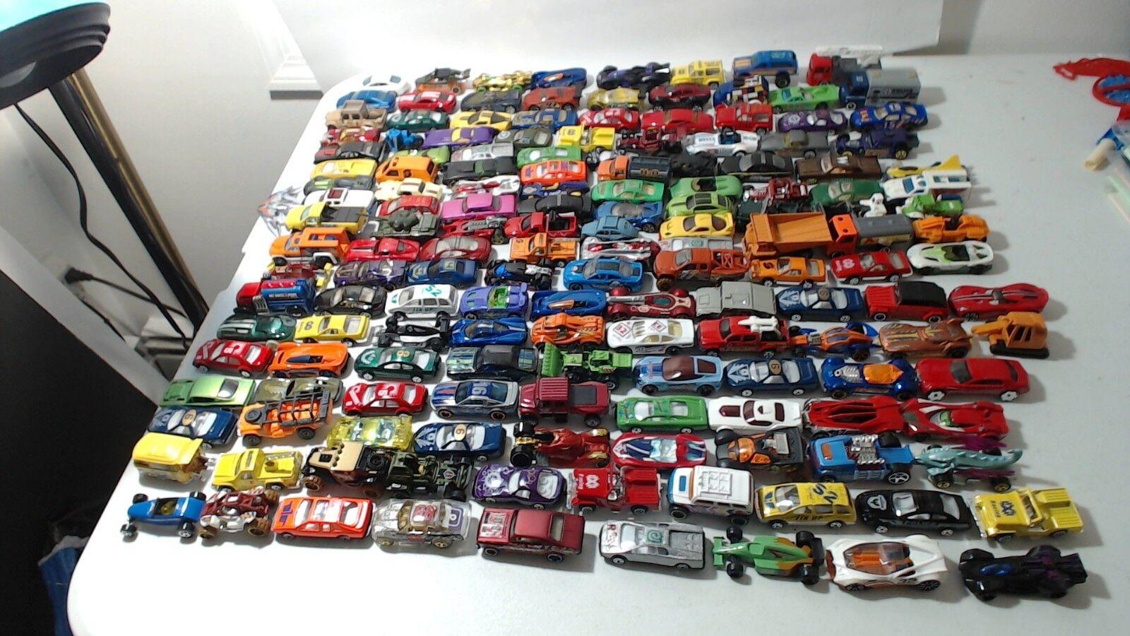 158 hot wheels matchbox et autres voitures camions Planes DIE CAST TOYS