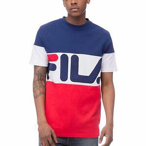 9e2121035 New Authentic Men Fila T-Shirts Graphics vialli tee LM163UP1 413 ...