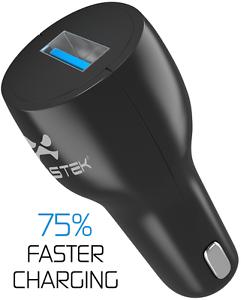 Cargador-Adaptador-USB-de-Coche-Ghostek-NRG-Rapida-Adaptable-Rapido-Puerto-Carga
