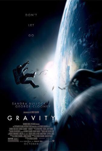 CANVAS gravity movie Art print POSTER