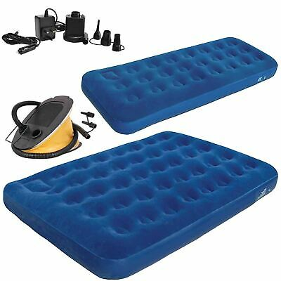 Size Air Bed Blow Up Inflatable Mattress With Built In