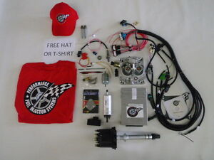 Details about EFI Complete TBI Fuel Injection System - For Stock Small  Block Chevy 305 5 0L