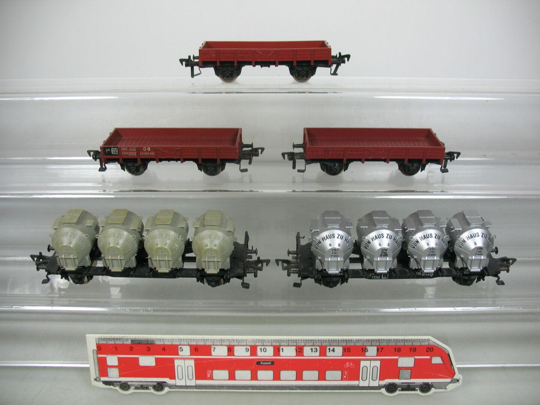 Ap218-1 x Fleischmann H0 Freight Car  Von Haus Zu 7210111 + 461024 x 05, DB