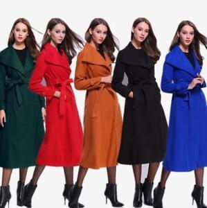 Winter Warm Dameswollen Parka Lange kleuren uitloper jasje 5 kasjmier nBYwzqwF