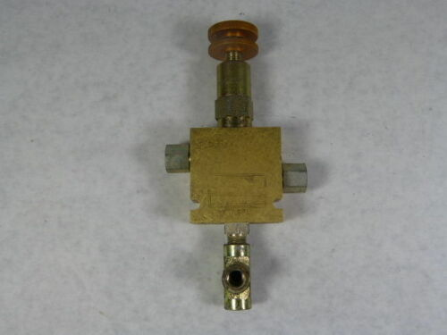 Vickers 20197A//PRV2-10-S-0-20// Pneumatic Block with Relieving Valve Assy  USED