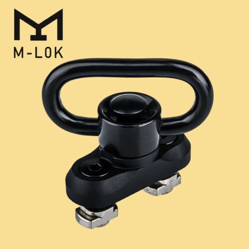 NEW Heavy Duty 1.25 M-lok Sling Mount Push Button QD Sling Swivel AdaptoODCA