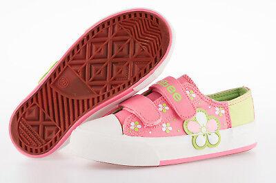 Lovely Pink Lona Zapatillas Zapatos Tallas 7.5 - 11