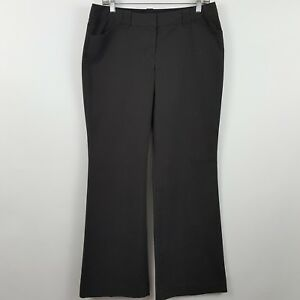 Express-Design-Studio-Dark-Brown-Women-039-s-Career-Dress-Pants-Sz-8R-30-x-33
