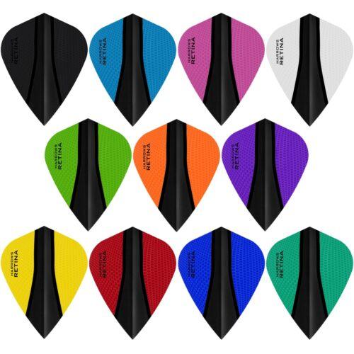 Kite Shape Black Harrows Retina X Dart Flights