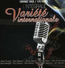 1186 // L'INTEGRALE VARIETE INTERNATIONALE 10 CD 170 TITRES NEU