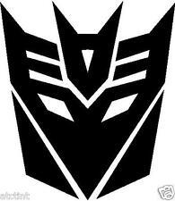 Transformers Decepticon Vinyl Decal Sticker Window