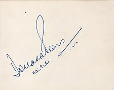 DONALD PEERS + RAWICZ & LANDAUER - Signed Album Page - MUSIC/RADIO/TV