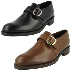 Loake Mercer Mens Formal Monk Strap Shoes