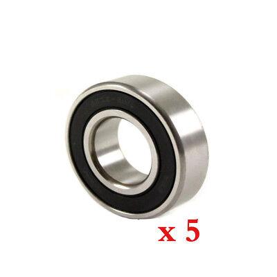 6001-2RS Sealed Bearing 12x28x8,6001 2RS Ball Bearing QTY 10