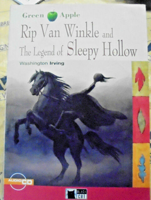 RIP VAN WINKLE THE LEGEND OF SLEEPY..con Cd LEVEL STARTER A2 - GREEN APPLE CIDEB