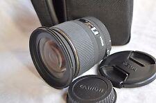 SIGMA EX DG RF 20mm f/1.8 per Canon EF, Top!