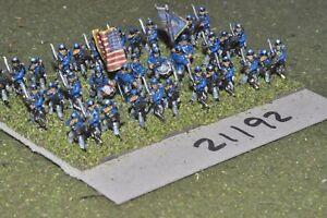 15 Mm Acw/union-guerre Civile Américaine Petite Infanterie 36 Figures-inf (21192)-afficher Le Titre D'origine