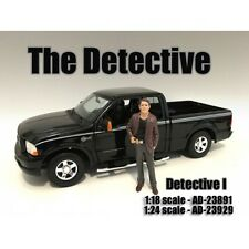 """""""THE DETECTIVE #1"""" FIGURE FOR 1:24 SCALE MODELS BY AMERICAN DIORAMA 23929"""