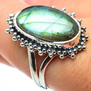 Labradorite-925-Sterling-Silver-Ring-Size-8-5-Ana-Co-Jewelry-R29672F