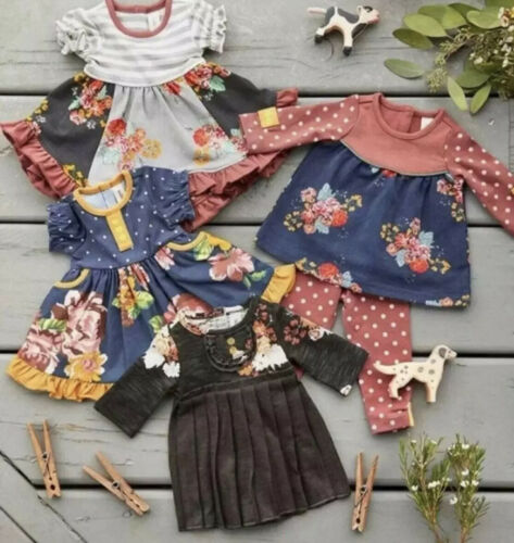 """Matilda Jane Joanna Gaines At Home Doll Clothes SET One Size 18"""" Dolls AG New"""