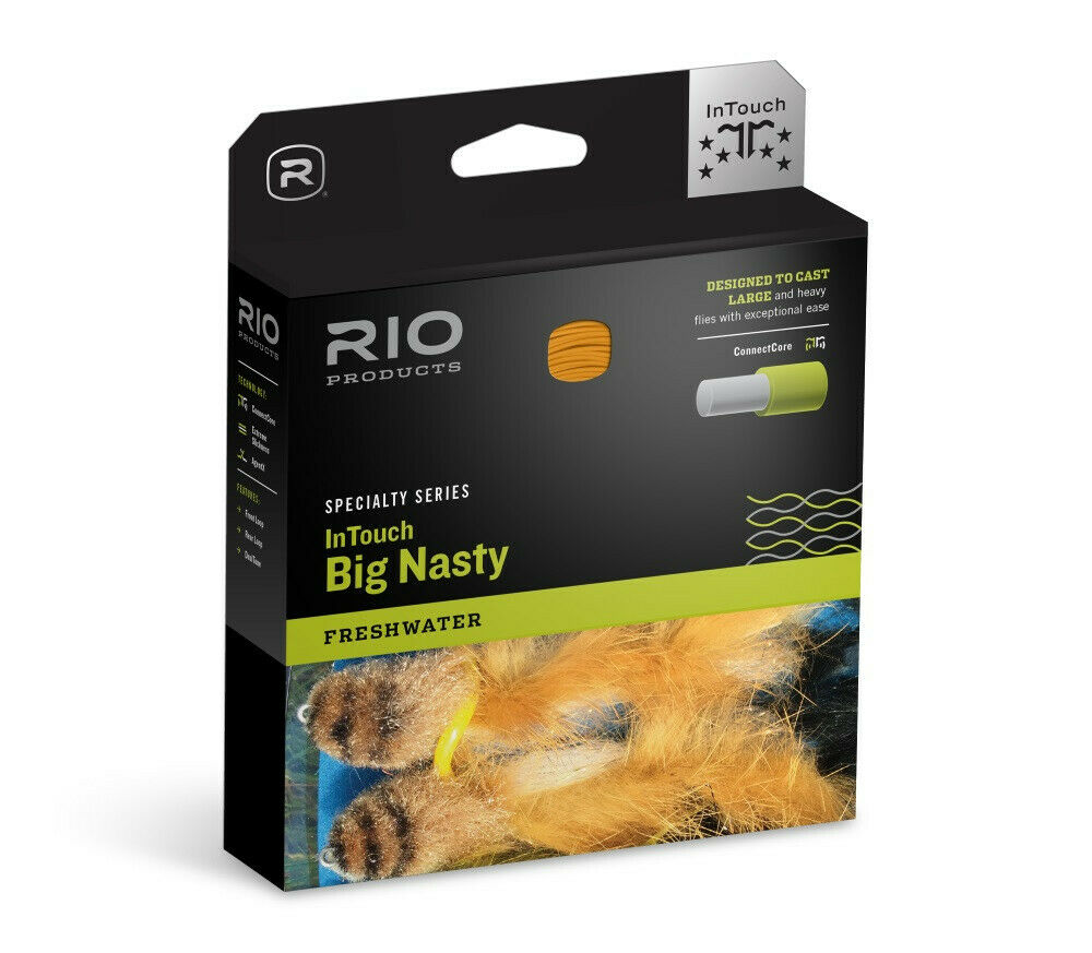Rio InTouch gree Nasty 4D Sink Tip FIS3S5 Fly Line  7wt  gratuito SHIPPING