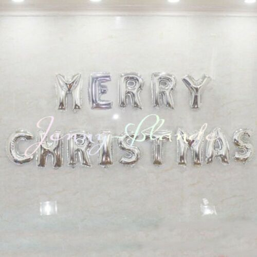 2018 Christmas Number Letter Decor Ballons Aluminum Foil Balloon Happy New Year