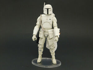 10 x Star Wars Black Series 6 inch Action Figure Stands - Multi-peg - CLEAR