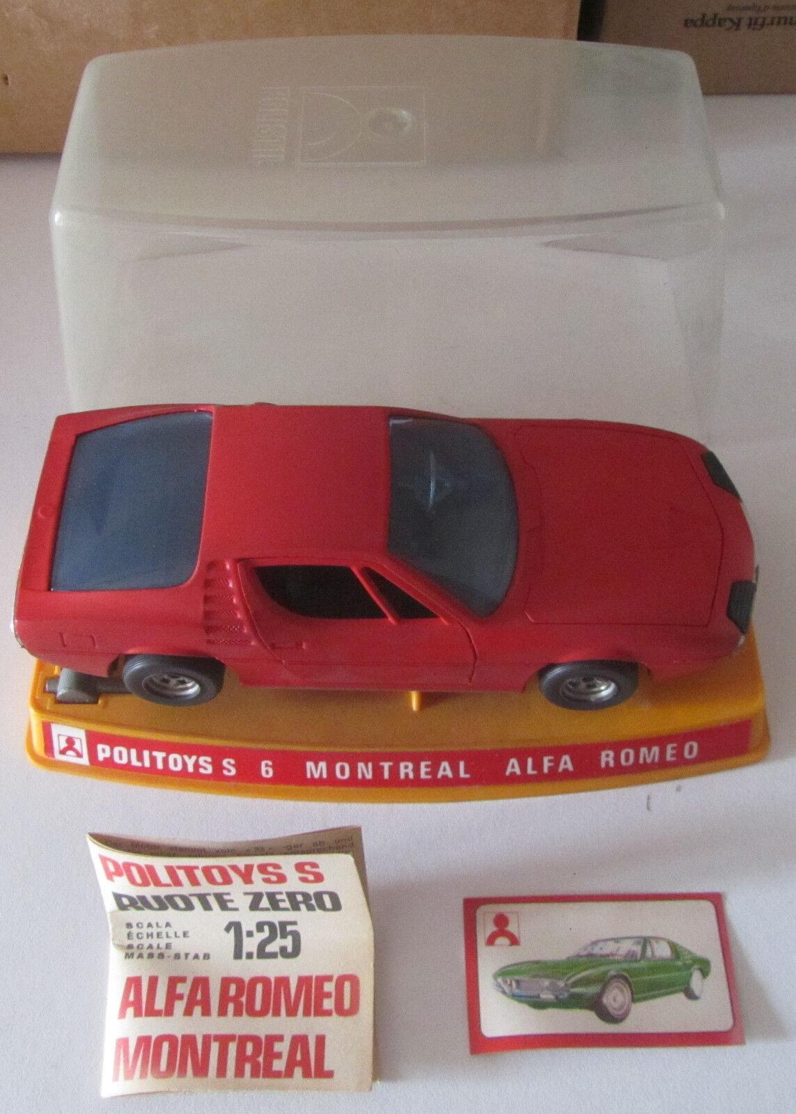 Politoys S6 Alfa Romeo Montreal scala 1 25 SPESE GRATIS