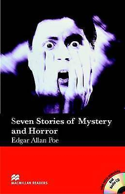 Seven Stories of Mysteries and Horror - With Audio CD by Edgar Allan Poe...