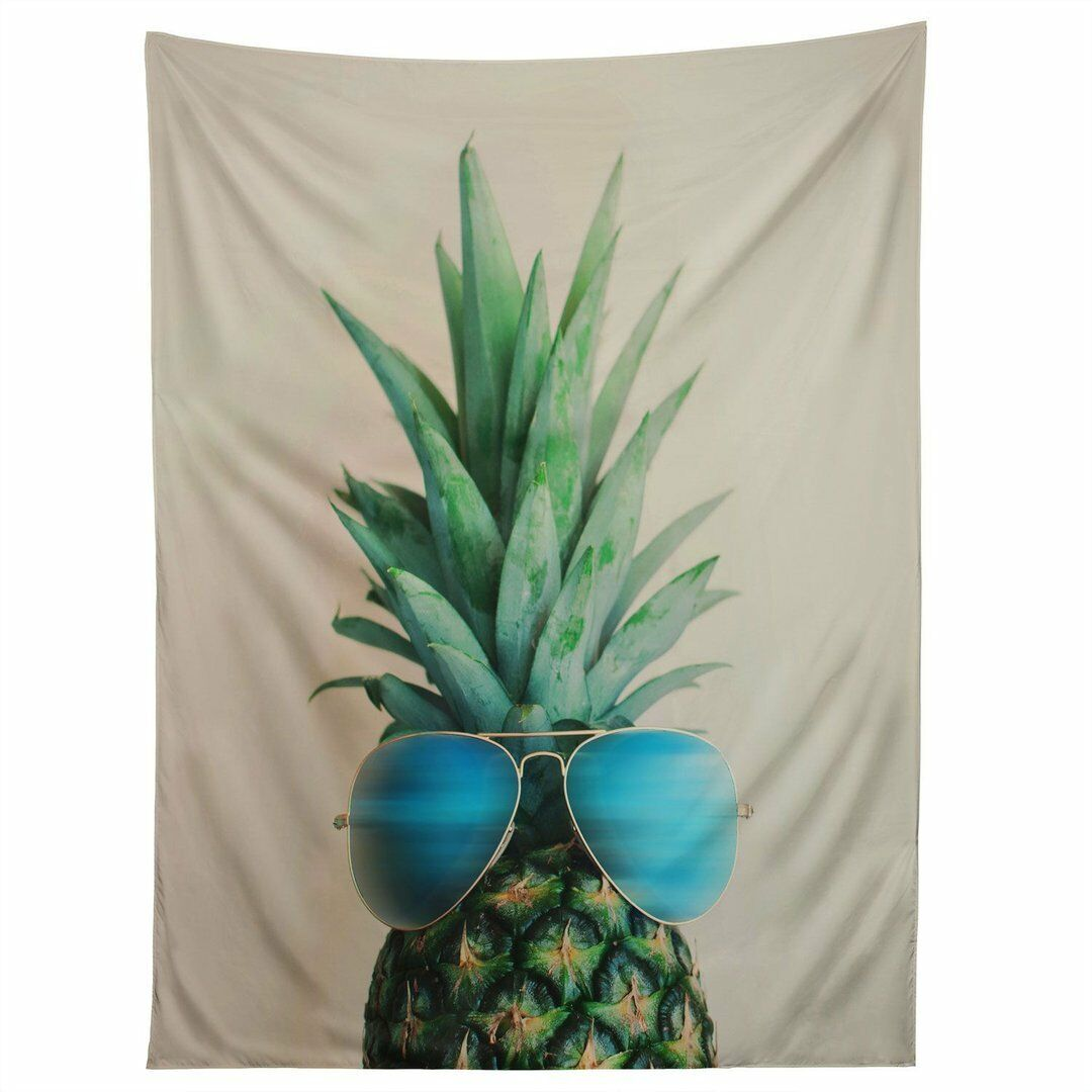 Shukqueen Colorful Pineapple Printed Wall Art Hanging Tapestry Dorm Decor 51 H For Sale Online Ebay