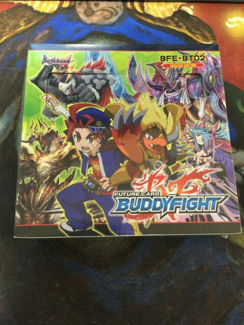 Sealed Booster Box BFE-BT02 ENGLISH FUTURE CARD BUDDYFIGHT Cyber Ninja Squad