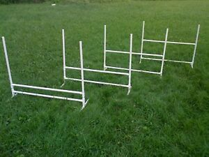 4 Dog Training Jumps Agility Obedience Flyball FUN!!