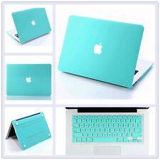 "Tiffany Blue Matt Hard Case Shell + Keyboard Cover for Macbook Pro Retina 13.3"""