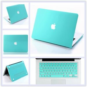 finest selection 06785 61541 Details about Tiffany Blue Matt Hard Case+Keyboard Cover for Macbook Pro 13  15