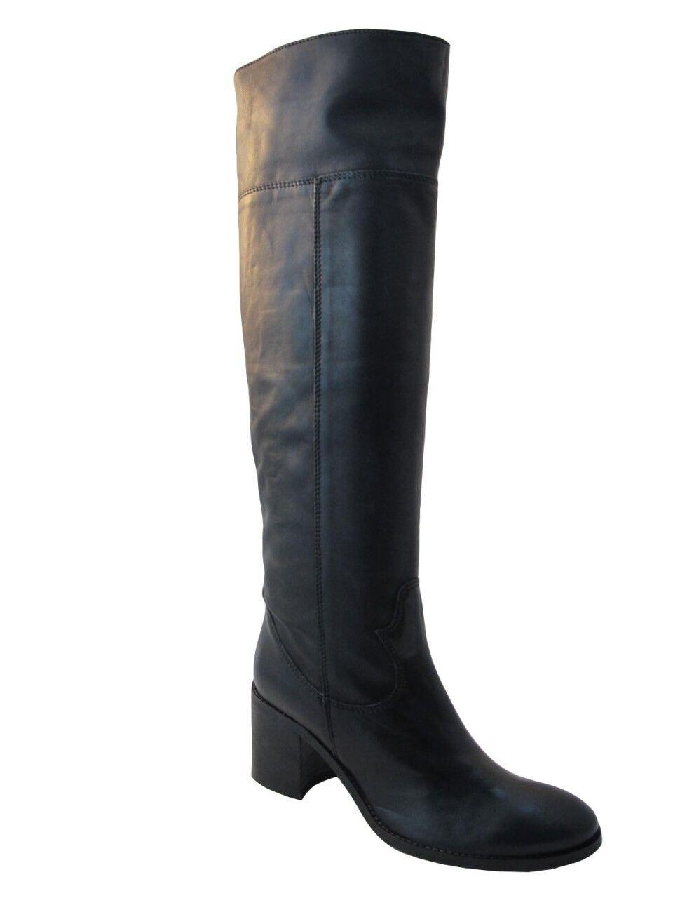 Para mujeres cuero italiano Davinci la rodilla botas altas 2572 2572 2572  ahorra hasta un 50%