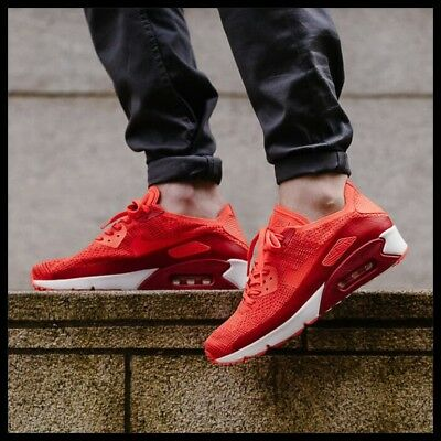 Air Max 90 Ultra 2.0 Flyknit Bright Crimson