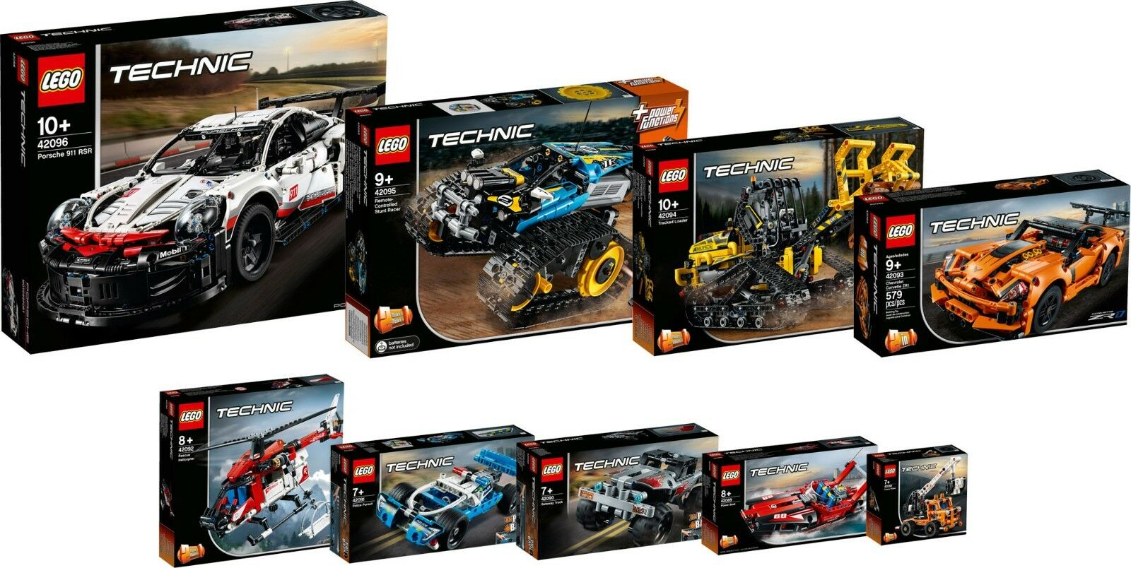 LEGO Technic 42096 42095 42094 42093 42092 42091 42090 42089 42088 prevendita