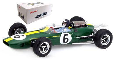 Driver Figure 1:43 Model BRUMM Lotus 33 J Clark 1965 #1 Winner Germania GP