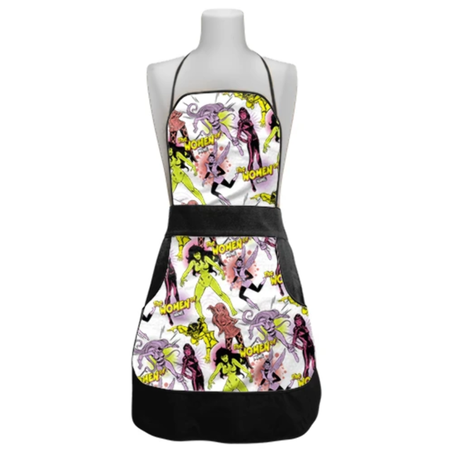 MARVEL OFFICIAL LADIES RETRO APRON